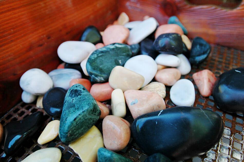 Schleif Dir Deinen Stein an der Steinmühle